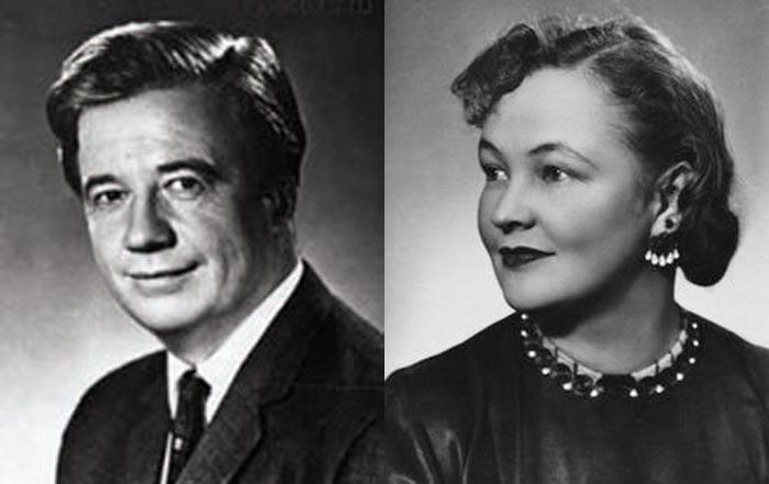 Алексей Консовский и Вера Алтайская