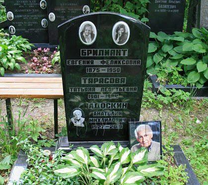 Анатолий Адоскин могила
