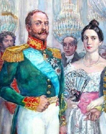 Жена Пушкина Наталья