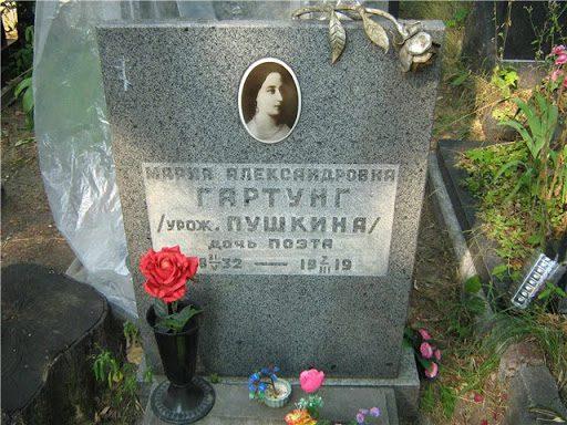 Мария Гартунг могила