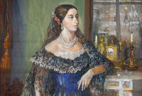 Мария Гартунг дочь пушкина