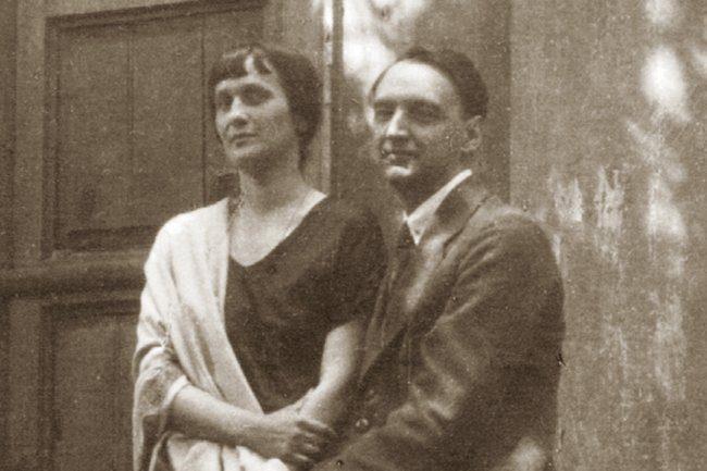 Анна Ахматова и Пунин