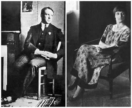 Анна Ахматова и Борис Анреп