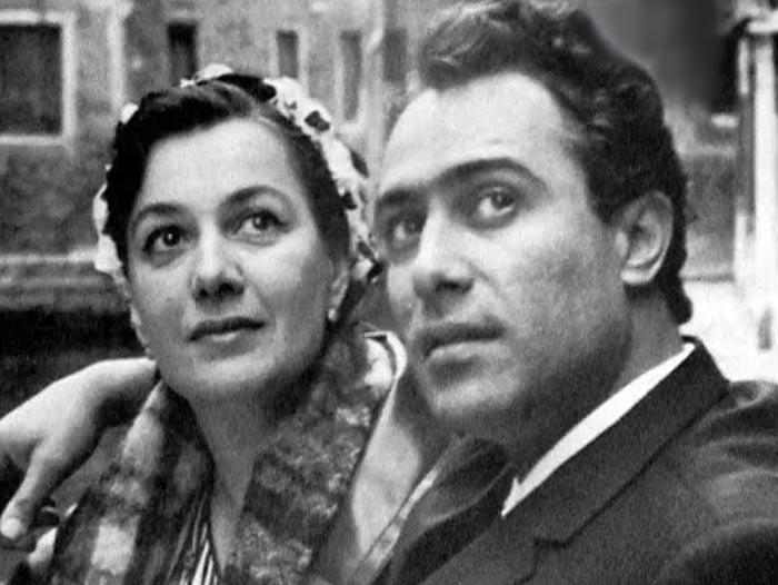 Тамилла Агамирова и Николай Сличенко
